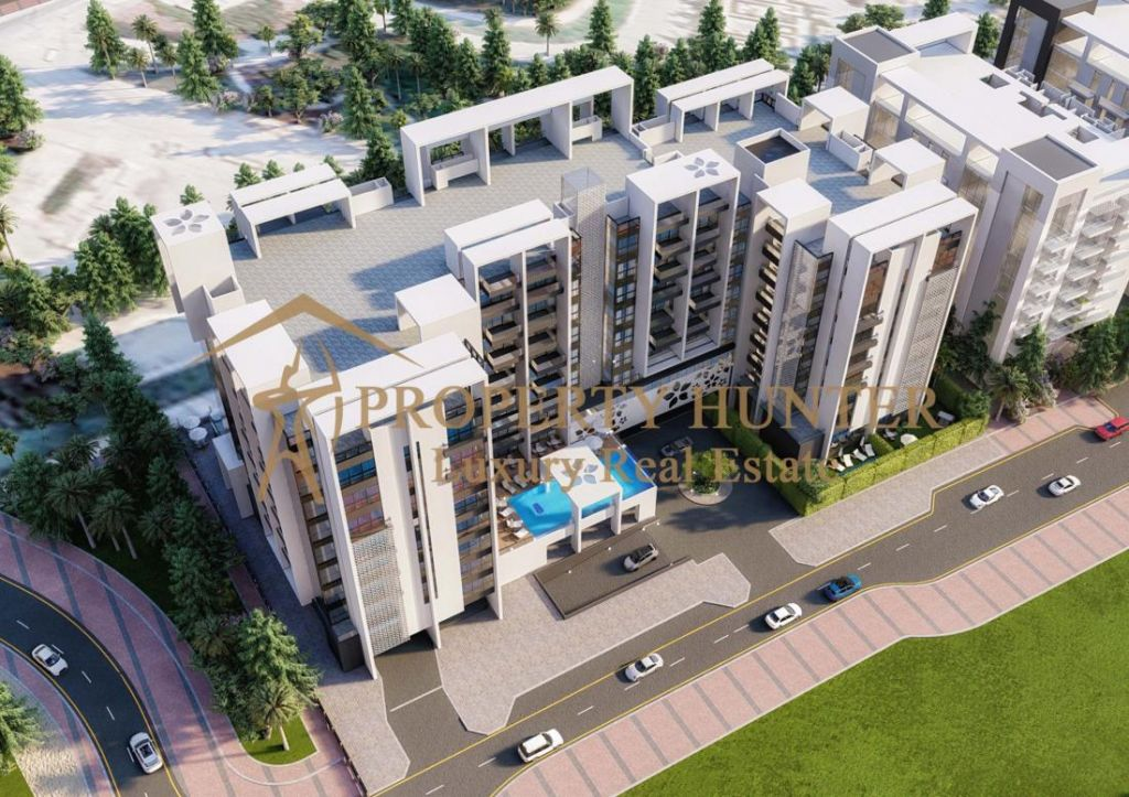 Residential Off Plan 2 Bedrooms F/F Apartment  for sale in Lusail , Doha-Qatar #8001 - 1  image