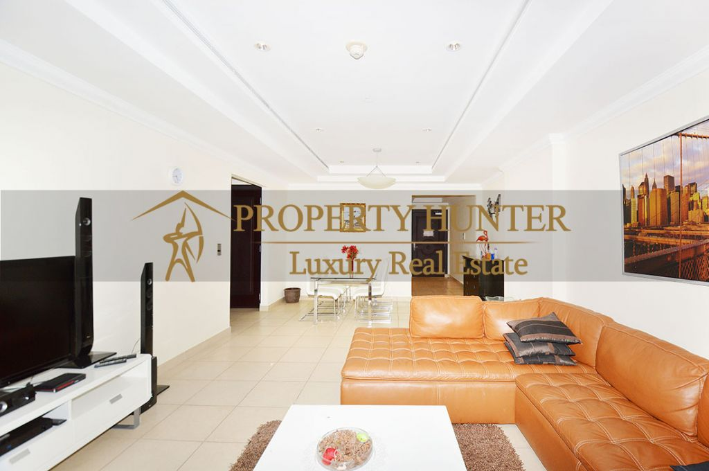 Residential Developed 1 Bedroom S/F Apartment  for sale in The-Pearl-Qatar , Doha-Qatar #8074 - 3  image