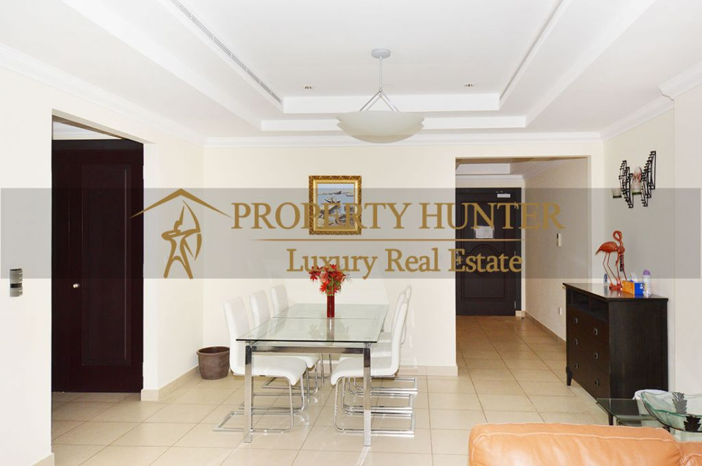 Residential Developed 1 Bedroom S/F Apartment  for sale in The-Pearl-Qatar , Doha-Qatar #8074 - 4  image