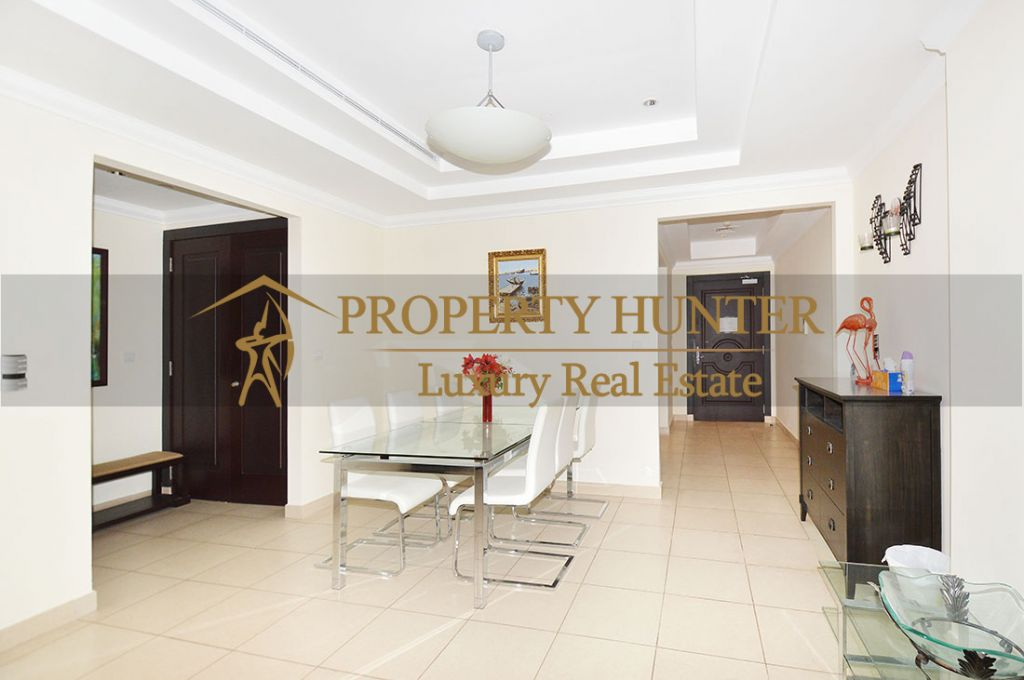 Residential Developed 1 Bedroom S/F Apartment  for sale in The-Pearl-Qatar , Doha-Qatar #8074 - 5  image