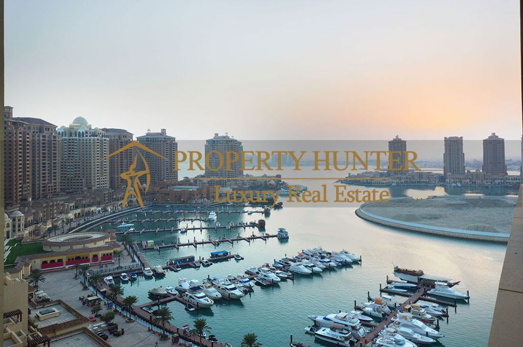 Residential Developed 1 Bedroom S/F Apartment  for sale in The-Pearl-Qatar , Doha-Qatar #8074 - 1  image