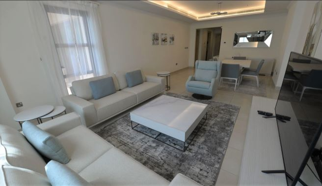 Residential Property 2 Bedrooms F/F Apartment  for rent in The-Pearl-Qatar , Doha-Qatar #8129 - 2  image
