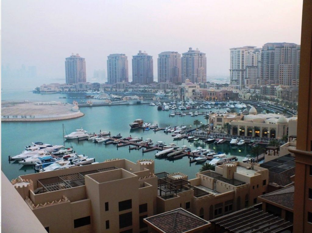 Residential Property 1 Bedroom S/F Apartment  for rent in The-Pearl-Qatar , Doha-Qatar #8163 - 1  image