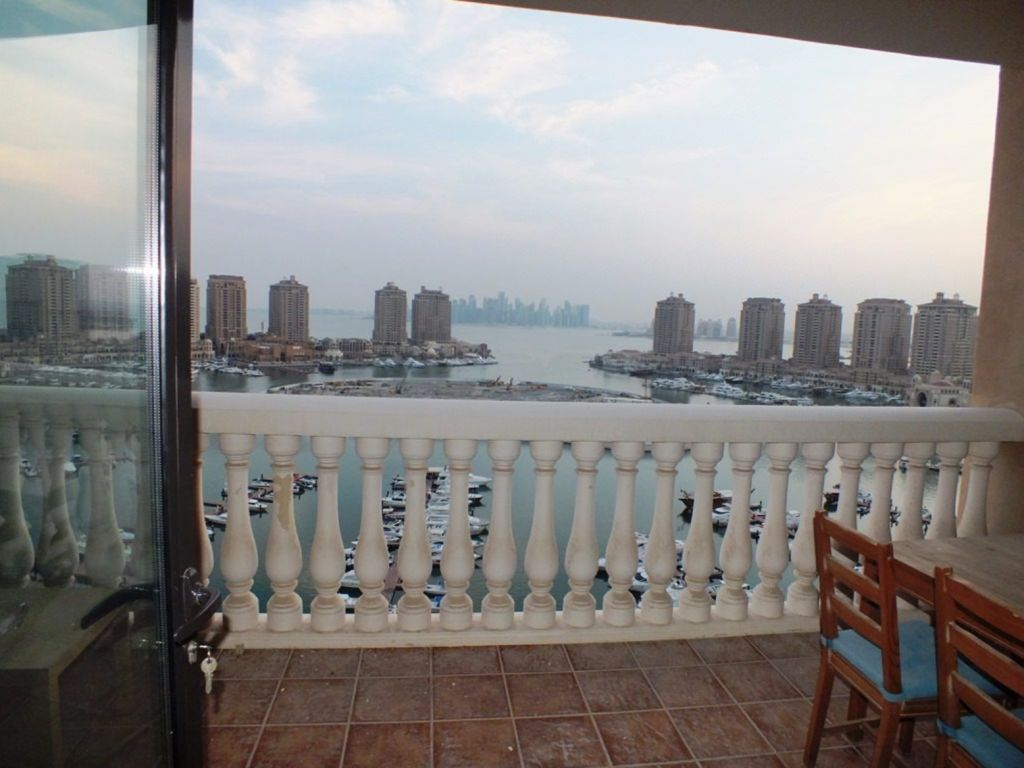 Residential Property 2 Bedrooms F/F Apartment  for rent in The-Pearl-Qatar , Doha-Qatar #8168 - 1  image
