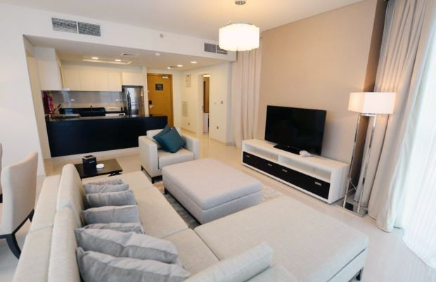 Residential Developed 1 Bedroom F/F Apartment  for sale in Lusail , Doha-Qatar #8193 - 1  image