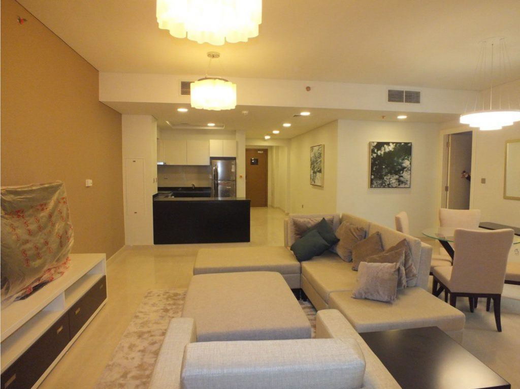 Residential Developed 1 Bedroom F/F Apartment  for sale in Lusail , Doha-Qatar #8203 - 1  image