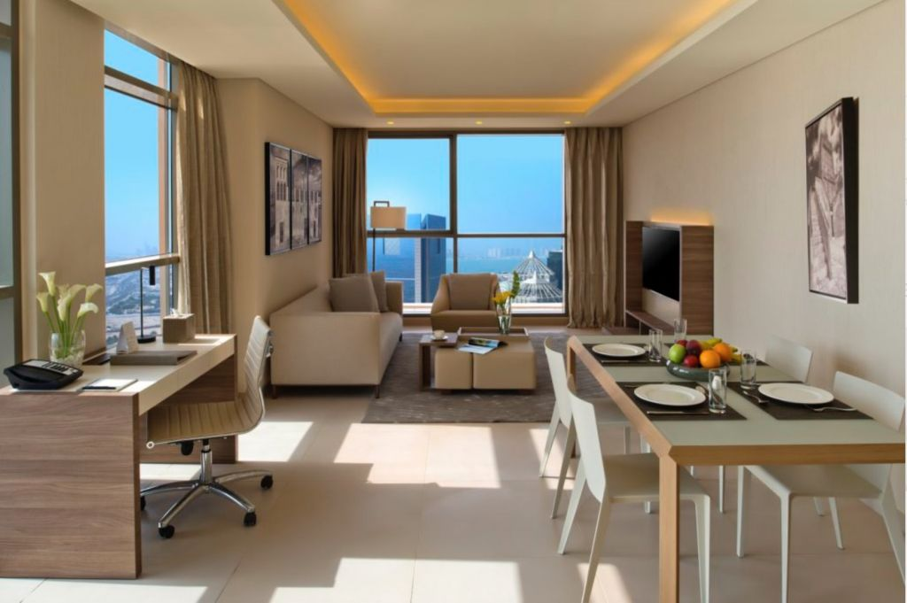 Residential Property 2 Bedrooms F/F Hotel Apartments  for rent in Doha-Qatar #8251 - 1  image