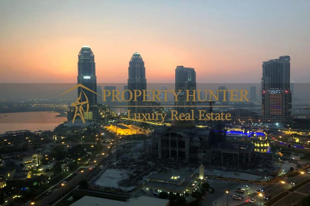 Residential Developed 1 Bedroom S/F Apartment  for sale in The-Pearl-Qatar , Doha-Qatar #8308 - 1  image
