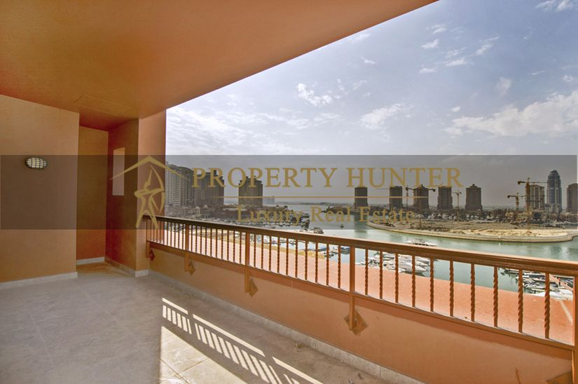 Residential Developed 1 Bedroom S/F Apartment  for sale in The-Pearl-Qatar , Doha-Qatar #8393 - 1  image