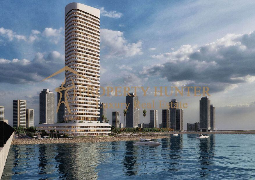 Residential Off Plan 2 Bedrooms F/F Apartment  for sale in Lusail , Doha-Qatar #8615 - 1  image