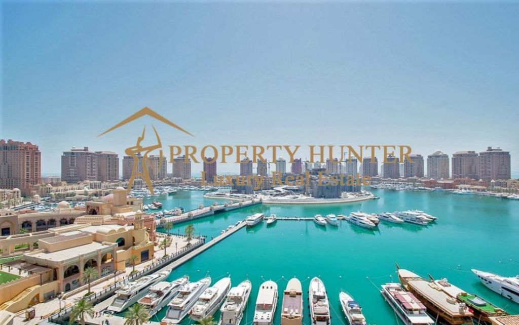 Residential Developed 1 Bedroom S/F Apartment  for sale in The-Pearl-Qatar , Doha-Qatar #8759 - 1  image