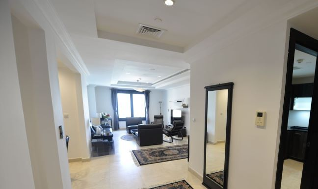 Residential Property 2 Bedrooms F/F Apartment  for rent in The-Pearl-Qatar , Doha-Qatar #8930 - 1  image