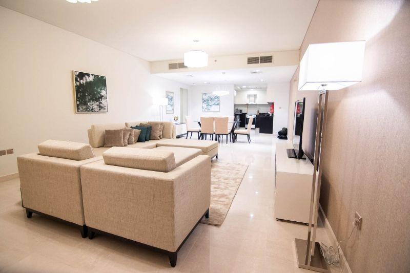 Residential Property 2 Bedrooms F/F Apartment  for rent in The-Pearl-Qatar , Doha-Qatar #9585 - 1  image