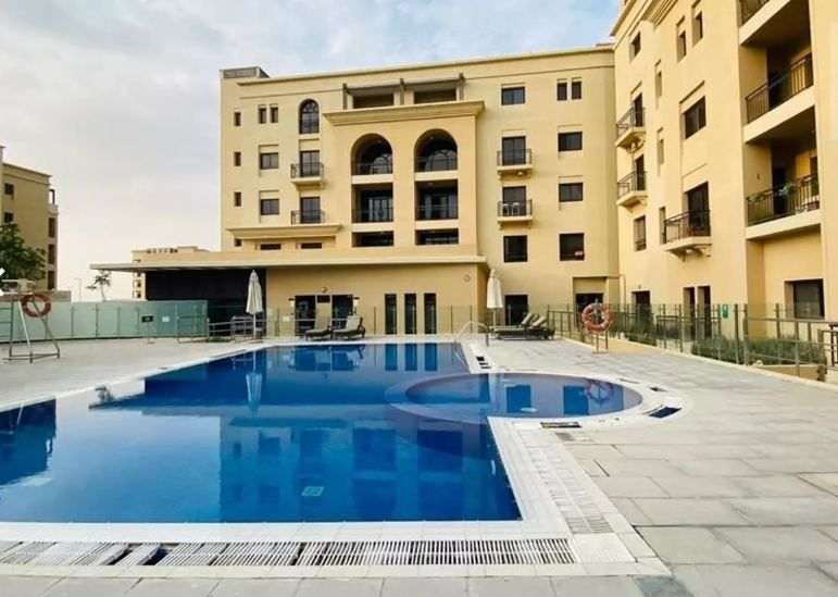 Residential Developed Studio U/F Apartment  for sale in Lusail , Doha-Qatar #9835 - 1  image