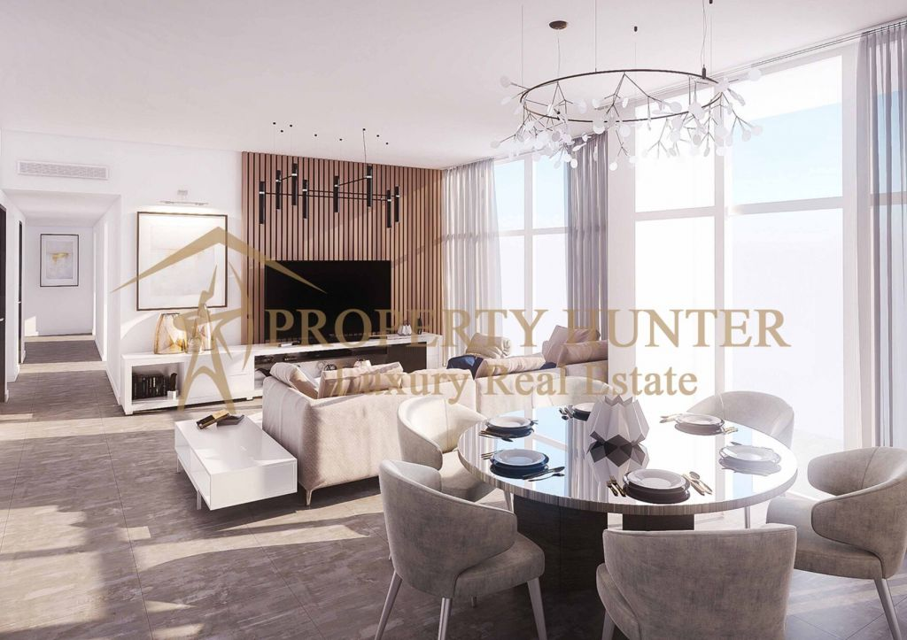 Residential Developed 1 Bedroom S/F Apartment  for sale in Lusail , Doha-Qatar #9930 - 1  image