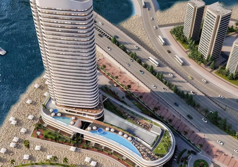Residential Developed 1 Bedroom U/F Apartment  for sale in Lusail , Doha-Qatar #9956 - 1  image